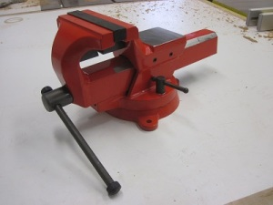 forged steel vice