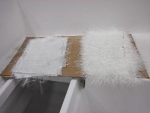 fiberglass pieces