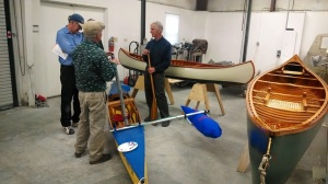 Hal talks about his canvas outrigger sailing canoe.