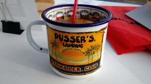 After 4pm it is time for a PAINKILLER.