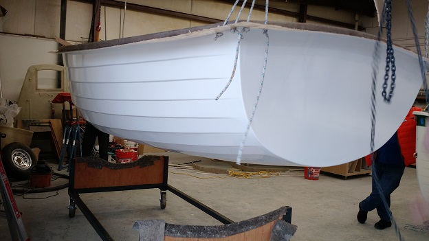 hull completely out of mold